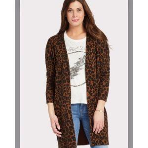 Sanctuary Lenox Leopard Cardigan
